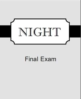 5 Paragraph Essay Of The Book Night By Elie Wiesel